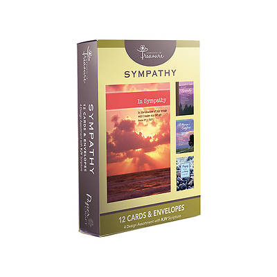 Sympathy Praying For You Boxed Cards Pack of 12