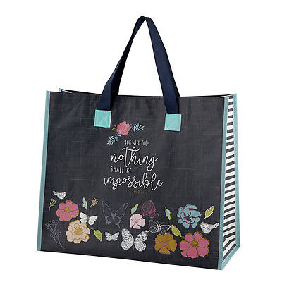 Nothing Shall Be Impossible Prayerful Wings Tote