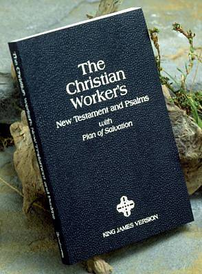 Bible KJV Christian Workers New Testament and Psalms