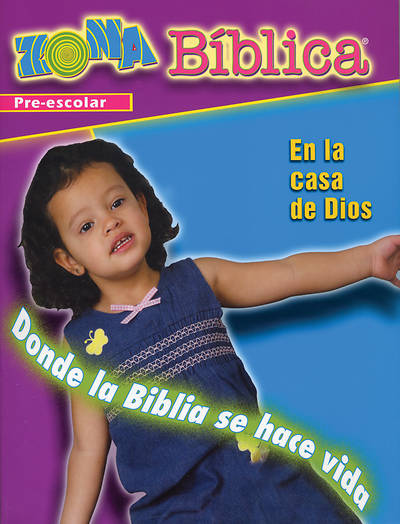 Picture of Zona Biblica En la Casa de Dios Preschool Leader's Guide