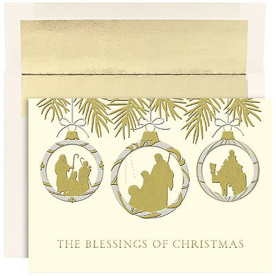 Christmas Blessing Boxed Cards
