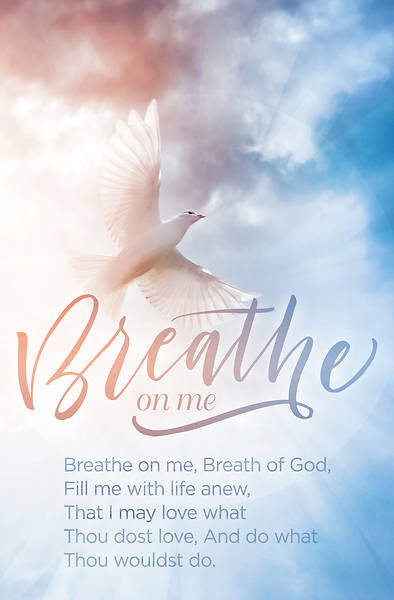 Picture of Breathe on Me General Regular Size Bulletin
