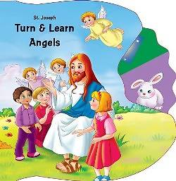 Saint Joseph Turn & Learn Angels