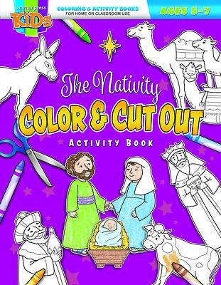 Picture of The Nativity Color & Cut Out