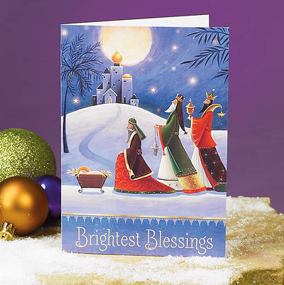 Brightest Blessings Boxed Cards - Box of 25