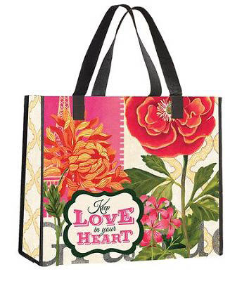 Nylon Tote- Keep Love in Your Heart