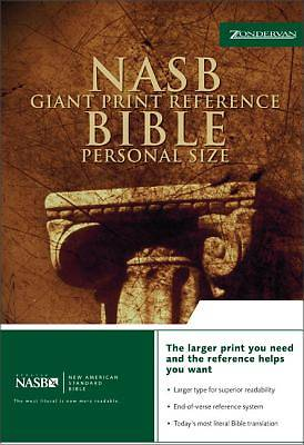 Giant Print Reference Bible New American Standard