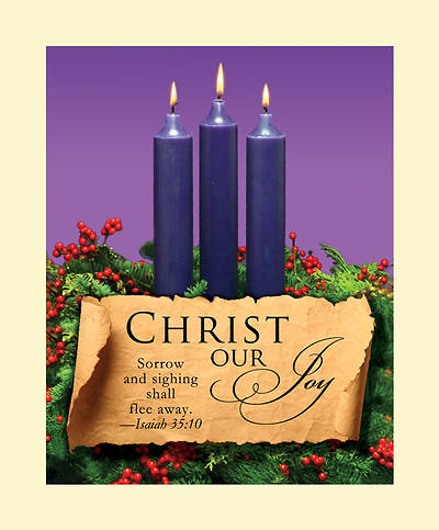Advent Purple Sunday 3 Bulletin 2011, Large (Package of 50)