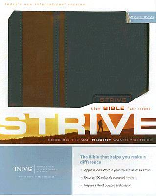 Picture of Today's New International Version Strive Bible