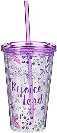 Picture of Tumbler Rejoice in the Lord