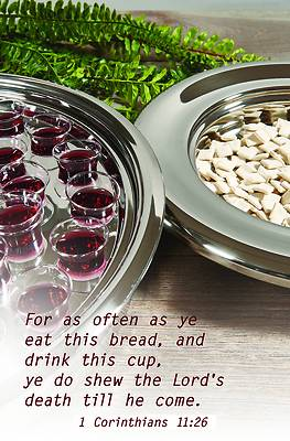 Picture of Let Us Break Bread Bulletin (Pkg 100) Communion