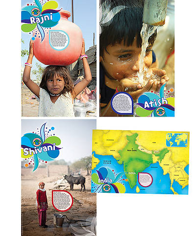 Group VBS 2014 Operation Kid-to-Kid Posters (Set of 4)