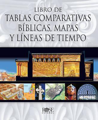 Picture of Libro de Tablas Comparativas Biblicas, Mapas Y Lineas de Tie Mpo