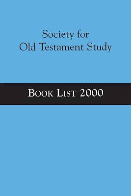 Society for Old Testament Study Book List 2000