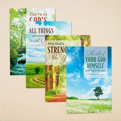 Gods Care - Difficult Times Boxed Cards - Box of 12