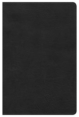 Picture of KJV Ultrathin Reference Bible, Black Leathertouch Indexed
