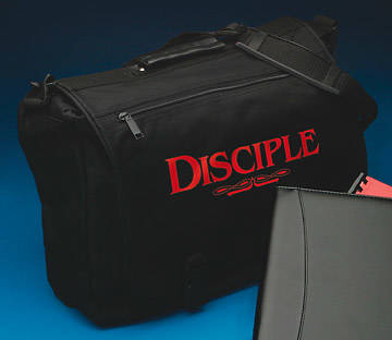 Disciple Black Nylon Briefcase Disciple 1