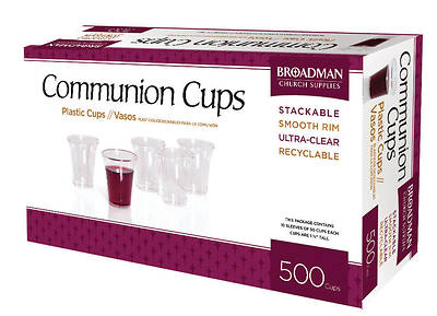 Picture of Communion Cups-Plastic (Box of 500)