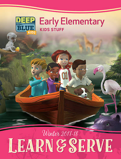 Deep Blue Kids Learn & Serve Early Elementary Kids Stuff Winter 2017-18