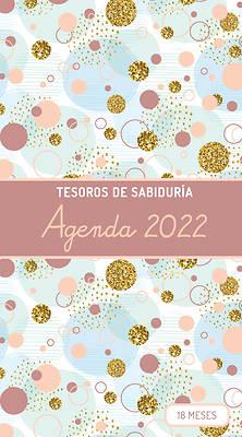 Picture of 2022 Planificador - Tesoros de Sabiduría - Burbujas Y Oro - Cobre Rosa