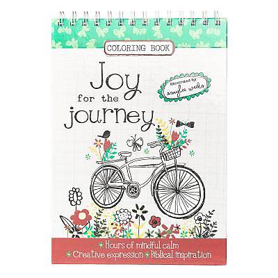 Picture of Adult Coloring Book - Joy for the Journey
