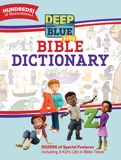 Picture of Deep Blue Kids Bible Dictionary