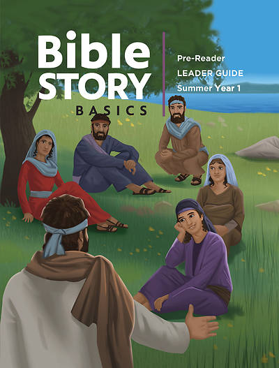 Picture of Bible Story Basics Pre-Reader Leader Guide Summer 2020