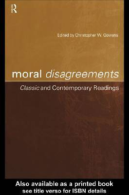Moral Disagreements [Adobe Ebook]