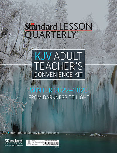 Picture of Standard Lesson Quarterly KJV Adult Teacher Kit Winter