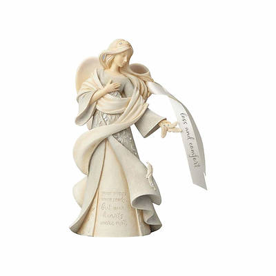 """Picture of Foundations Loss & Comfort Angel Figurine 9.25"""""""