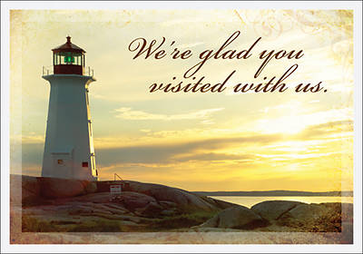 Glad You Visited-Lighthouse