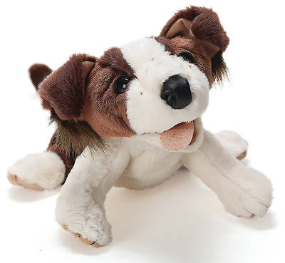 Deep Blue Indigo Dog Puppet