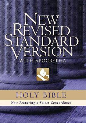 Holy Bible New Revised Standard Version with Apocrypha Burgundy Leather
