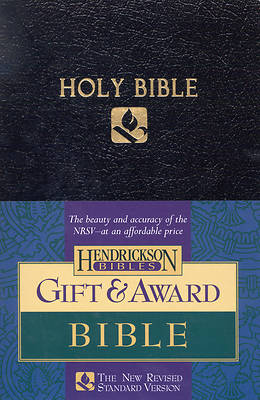 Picture of Gift and Award Bible NRSV (Black)