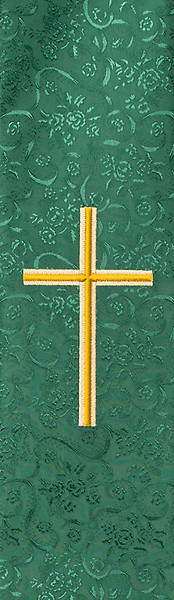 Gold Cross Deacon Stole