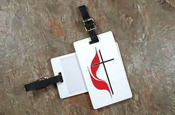 United Methodist Luggage Tag