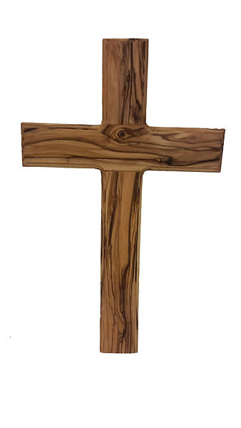Picture of Large Routered Wall Cross 9""