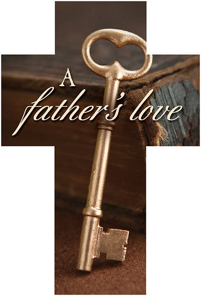 Picture of A Fathers Love Fathers Day Cross Bible Marker