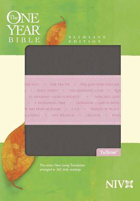 Picture of New International Version One Year Slimline Bible