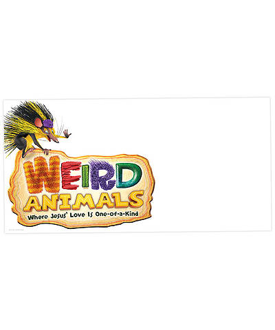 Group VBS 2014 Weird Animals LOGO Outdoor Banner