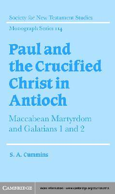 Paul and the Crucified Christ in Antioch [Adobe Ebook]