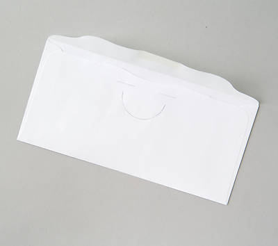 Special Purpose Plain White Offering Envelope Bulk Currency (Package of 500)