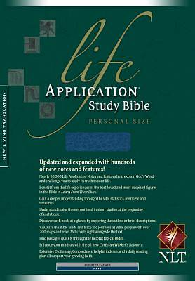 Life Application Study Bible-Nlt-Personal Size with CDROM