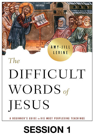 Picture of The Difficult Words of Jesus Streaming Video Session 1