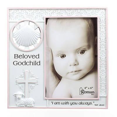 Picture of Beloved Godchild  Baptism Photo Frame