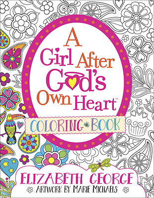 A Girl After Gods Own Heart Coloring Book