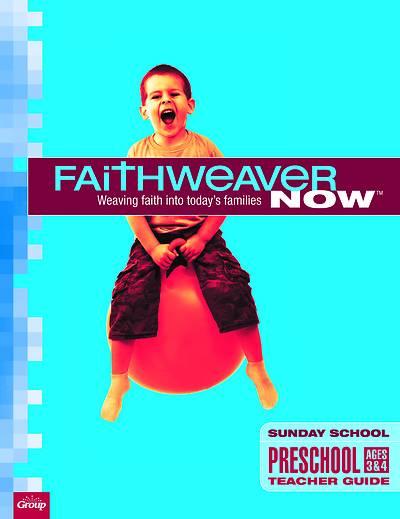 Picture of FaithWeaver Now Preschool Teacher Guide Winter 2020-2021