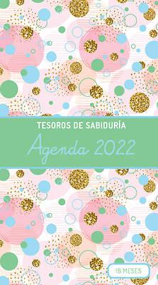 Picture of 2022 Planificador - Tesoros de Sabiduría - Burbujas Y Oro - Verde