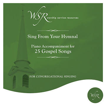 Picture of 25 Gospel Hymns CD (Southern Gospel Style Favorites)