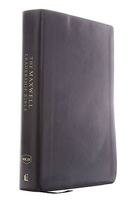 NKJV, Maxwell Leadership Bible, Third Edition, Imitation Leather, Black, Comfort Print